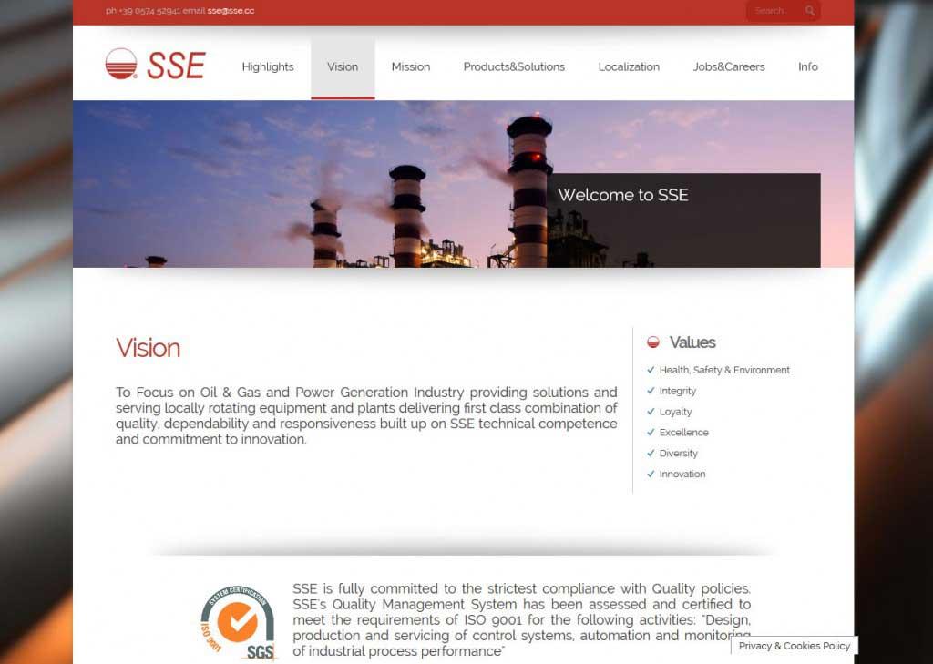 sse pagina servizi