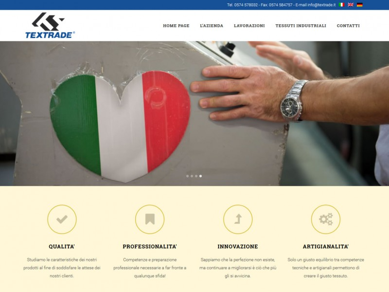 Textrade Homepage