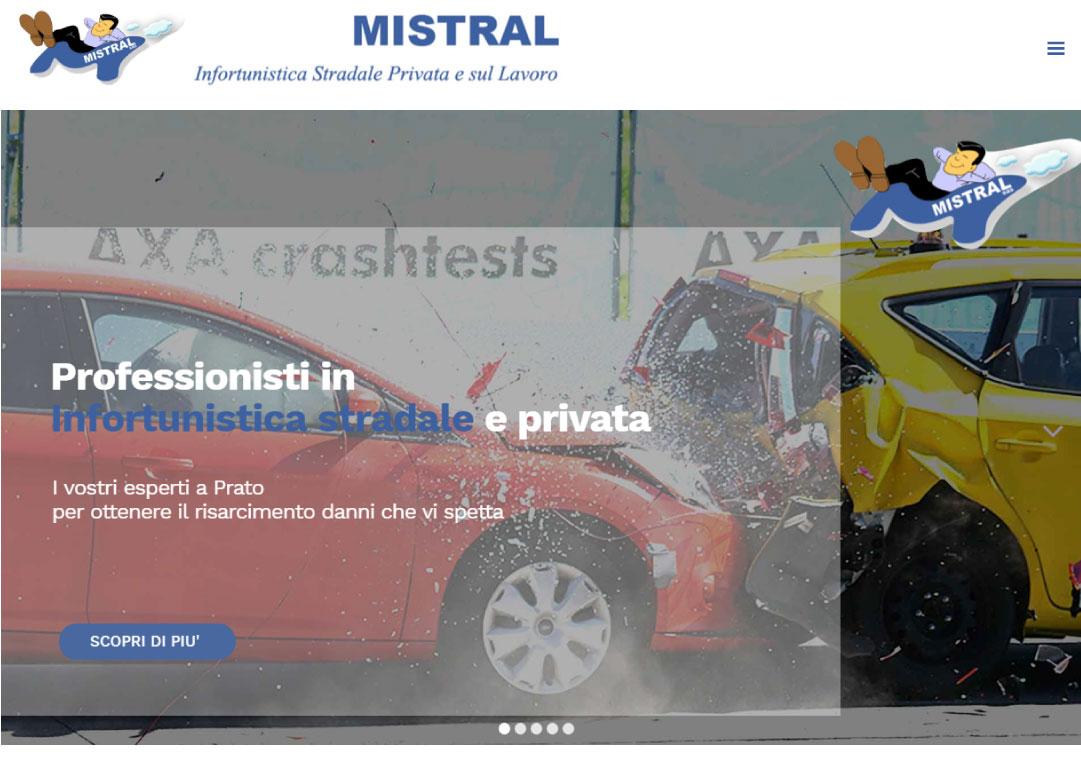 mistral homepage